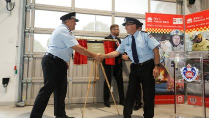 New Wallsend fire station opens