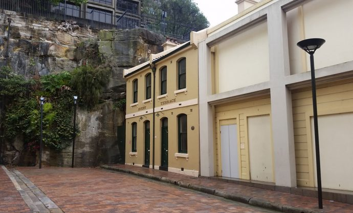 Atherden Street The Rocks Sydney