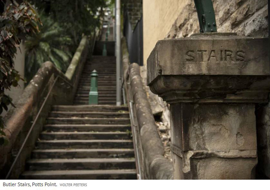 Butler Stairs, Potts Point
